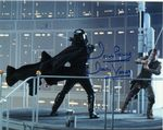 "Dave Prowse MBE ""Darth Vader"" STAR WARS 10X8 Genuine Autograph 11145"